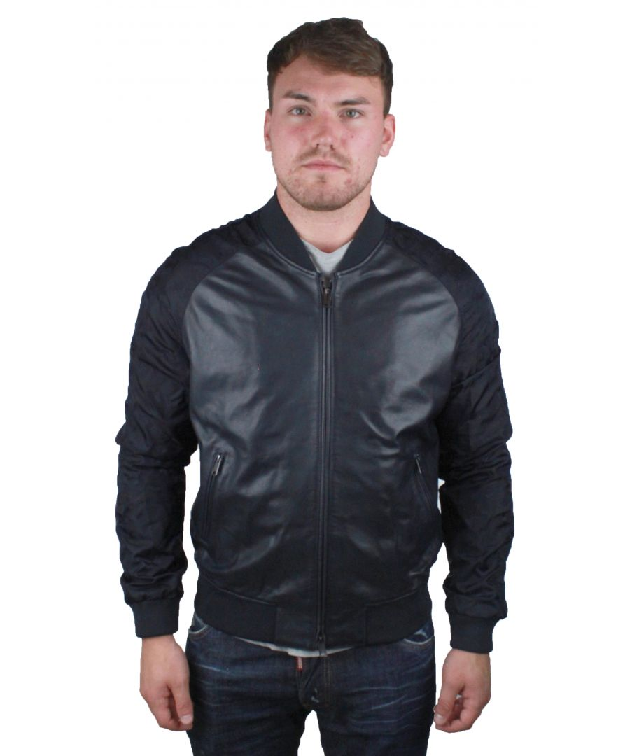 Image for Emporio Armani W1B54P W1P58 0011  Leather Jacket