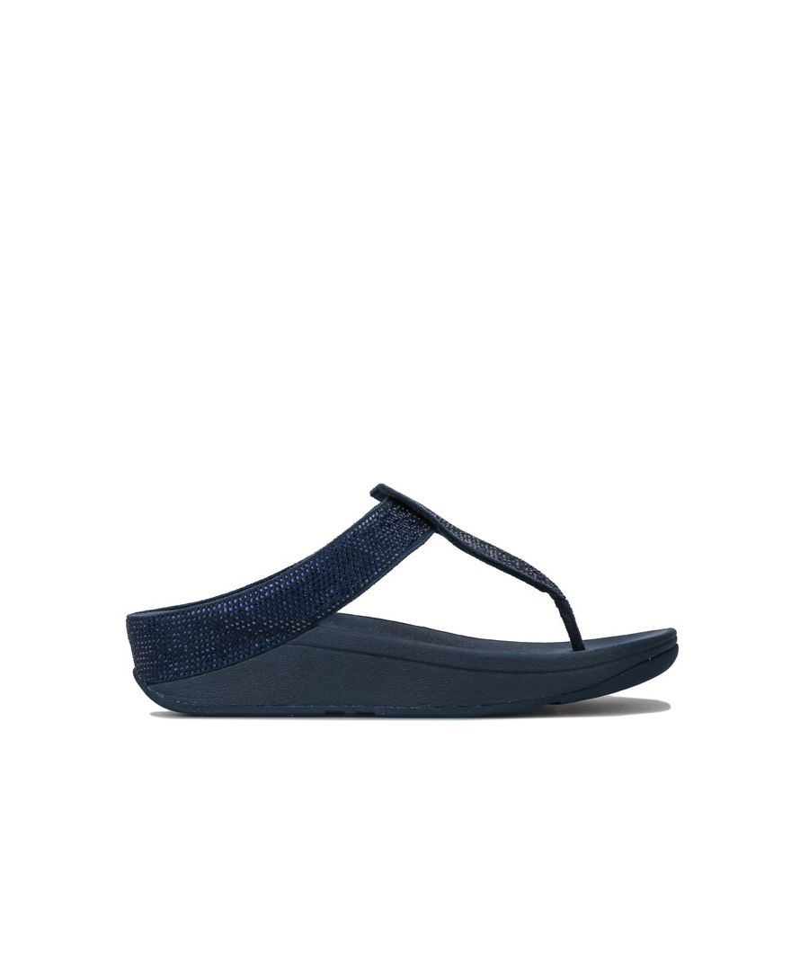 Image for Women's Fit Flop Isabelle Toe Thong Sandals in Navy