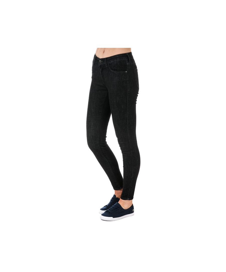 Image for Women's Wrangler Skinny Jeans in Black