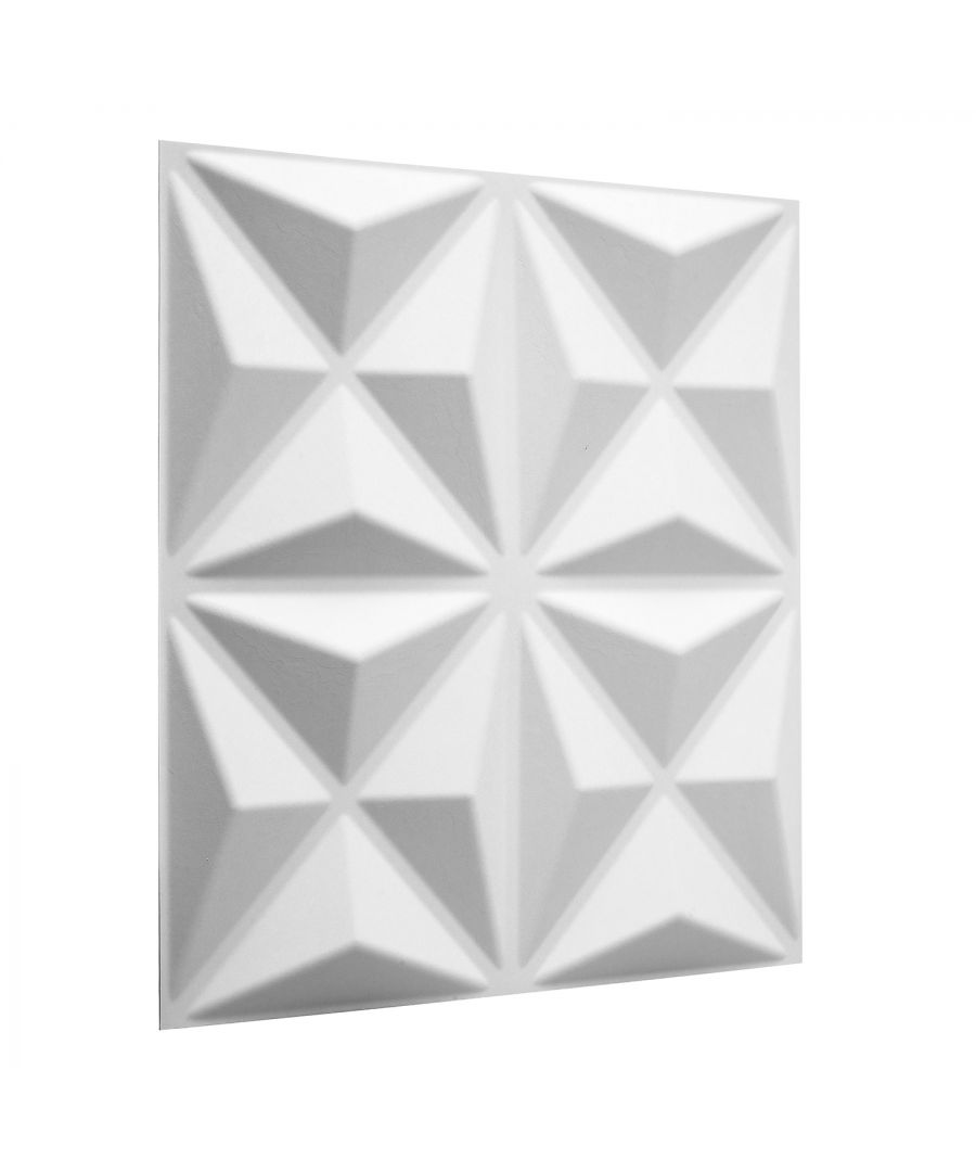 Image for W3DP0013 - Cullinans Eco Friendly 3D Wall Panels Decorative Tiles - 50x50 cm - 12 Boards (for 3 sqm)