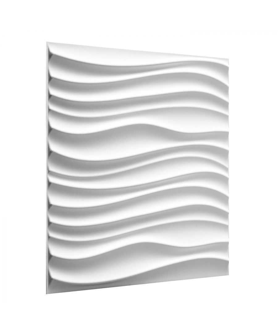 Image for W3DP0015 - Maxwell Eco Friendly 3D Wall Panels Decorative Tiles - 50x50 cm - 12 Boards (for 3 sqm)
