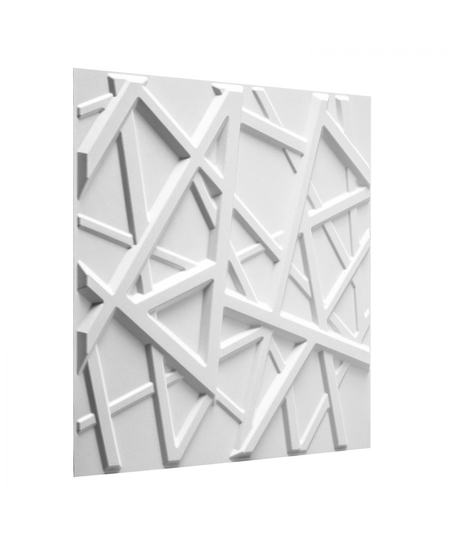 Image for W3DP0018 - Olivia Eco Friendly 3D Wall Panels Decorative Tiles - 50x50 cm - 12 Boards(for 3 sqm)