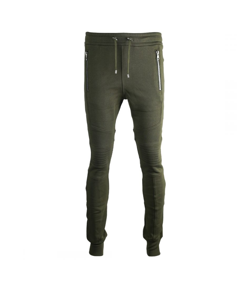 Image for Balmain Biker Green Sweat Pants