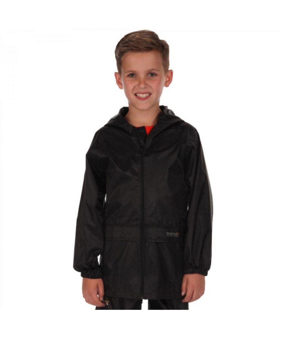 Image for Regatta Boys & Girls Kids Stormbreak Waterproof Polyester Jacket
