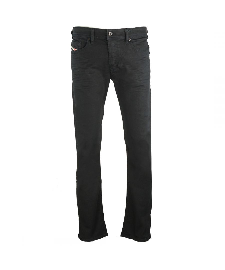 Image for Diesel Waykee 0R84A Black Jeans
