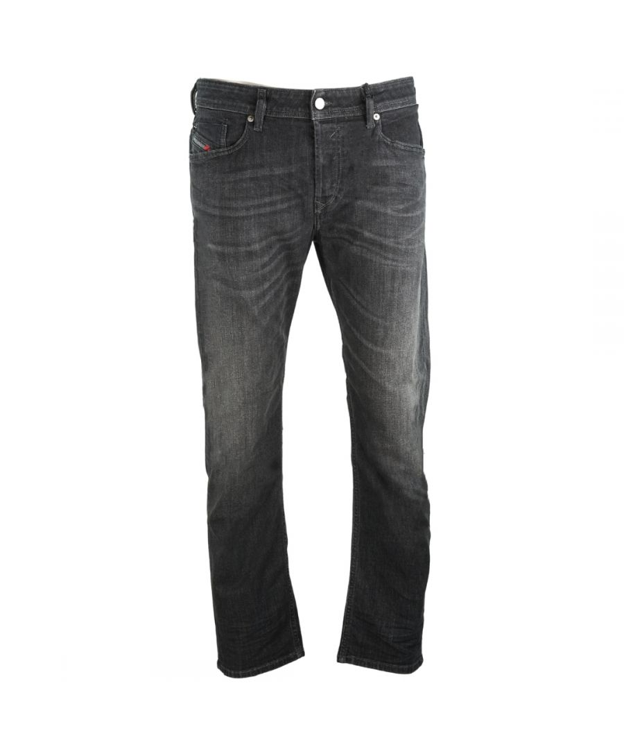 Image for Diesel Waykee R8AM7 Black Jeans