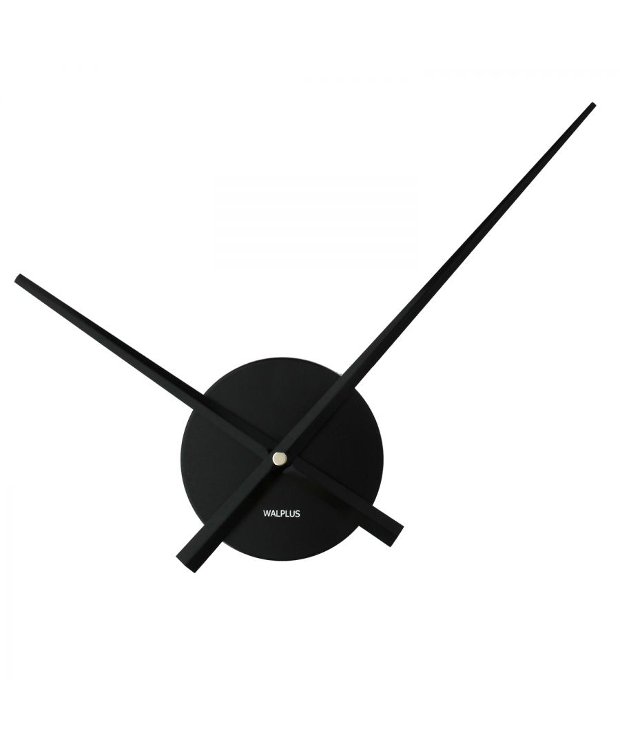 Image for Walplus Designer Flexi Minimal Wall Clock Black