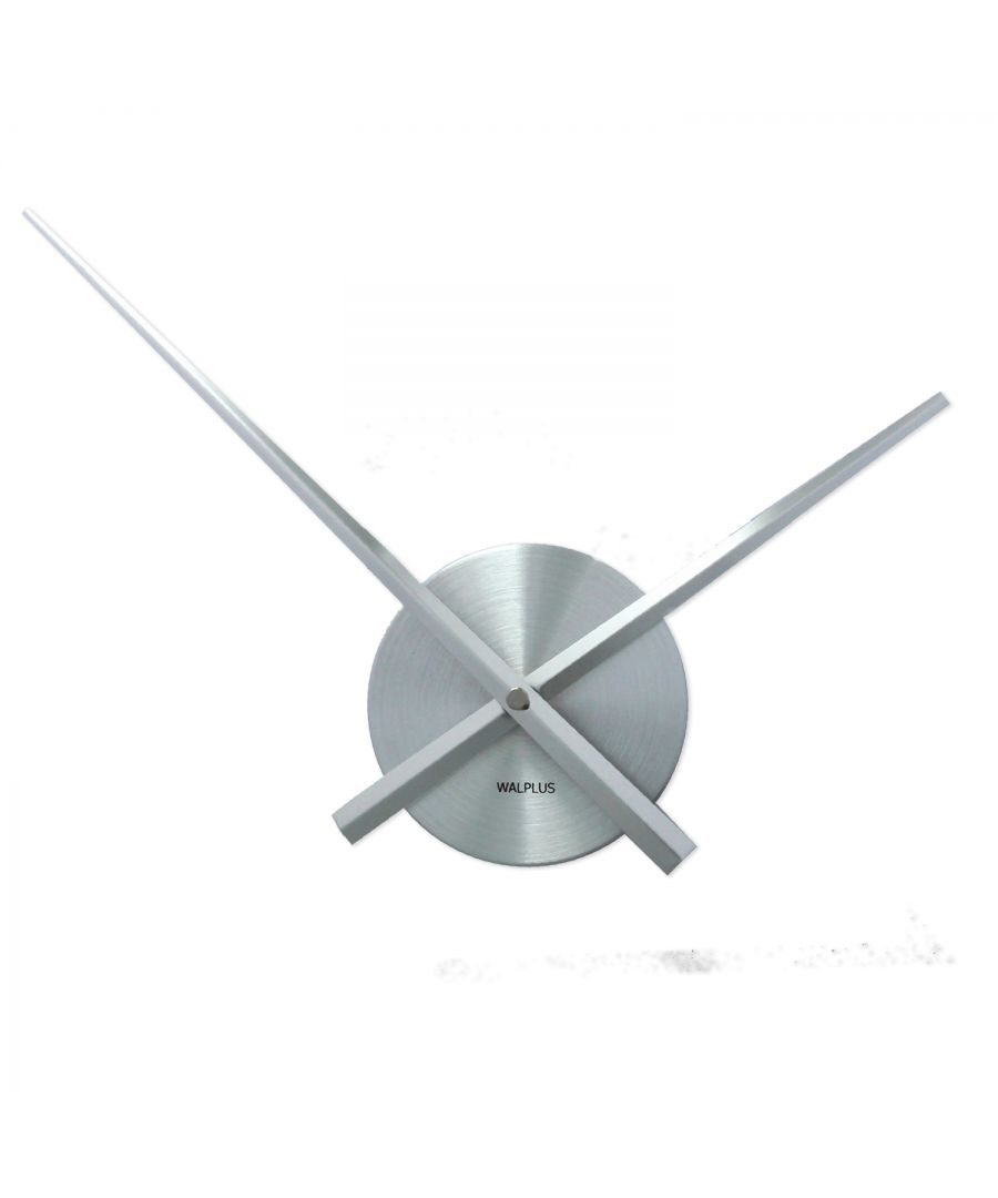 Image for Walplus Designer Flexi Minimal Wall Clock Silver