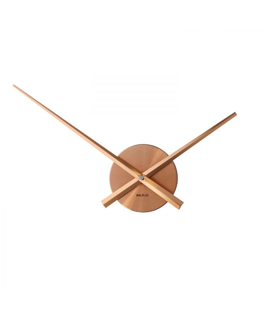 Image for Walplus Designer Flexi Minimal Wall Clock Copper