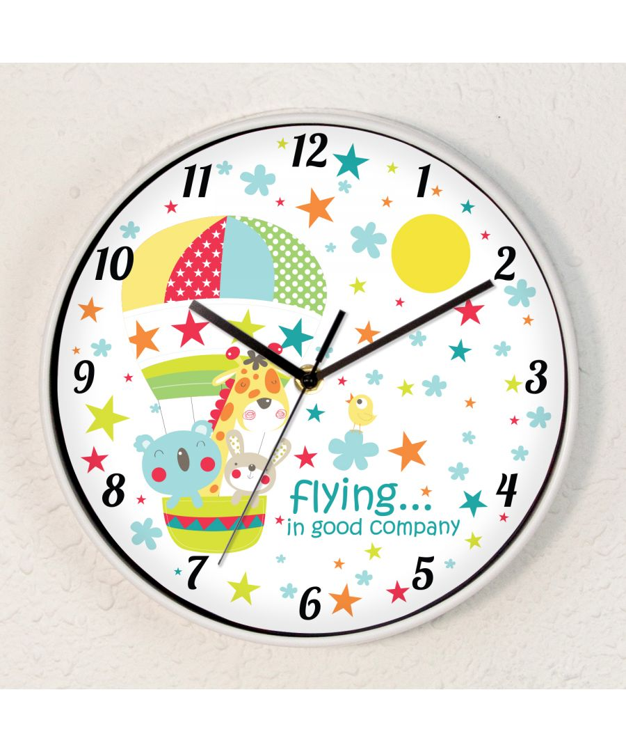 Image for Kids Room Time With Friends Children Wall Clock