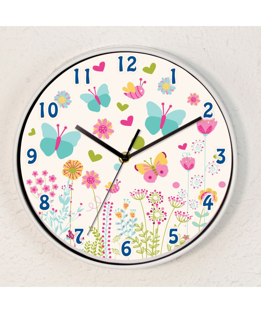 Image for Summer Dream Children Wall Clock Kids Room