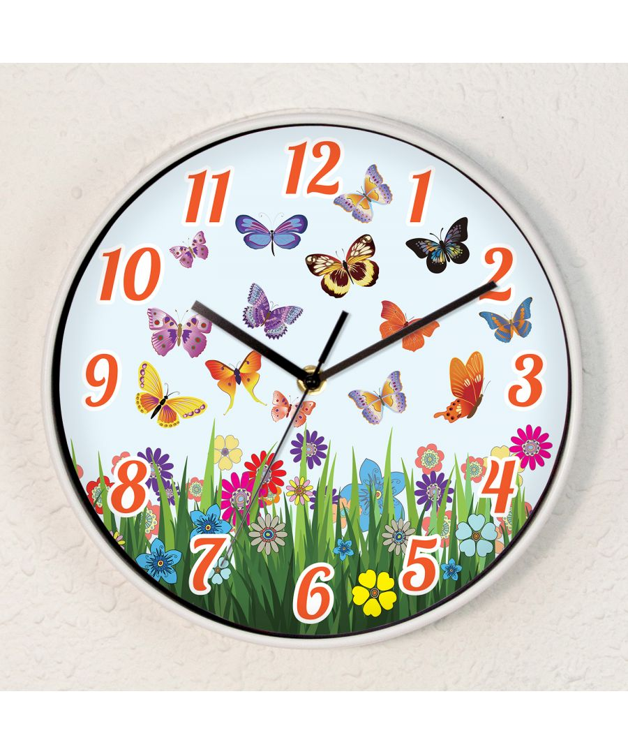 Image for Summer Day Children Wall Clock Kids Room