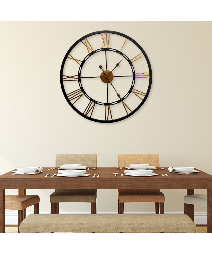 Image for WC2085 - Greenwich Roman Iron Clock 68cm