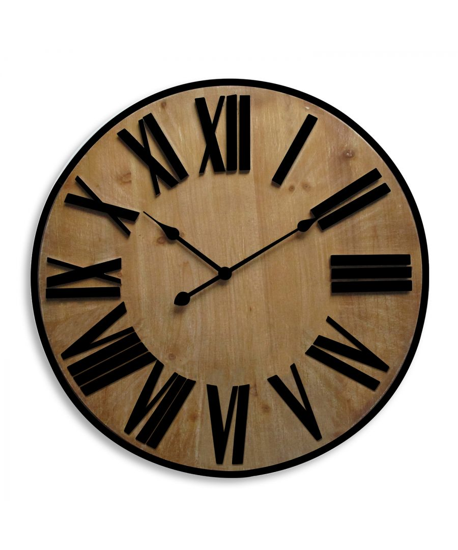 Image for WC2122 - Walplus Timber Clock 70cm