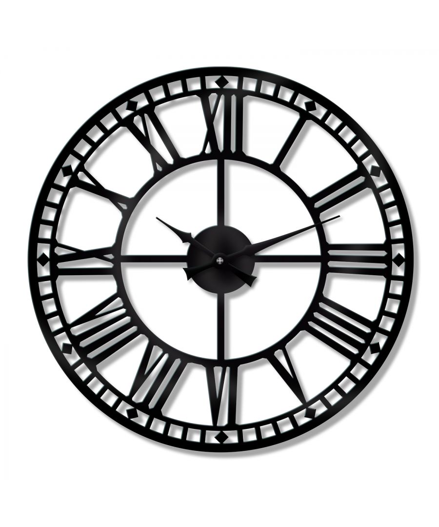 Image for WC2123 - Walplus Westminster Big Ban Style Iron Wall Clock 60cm