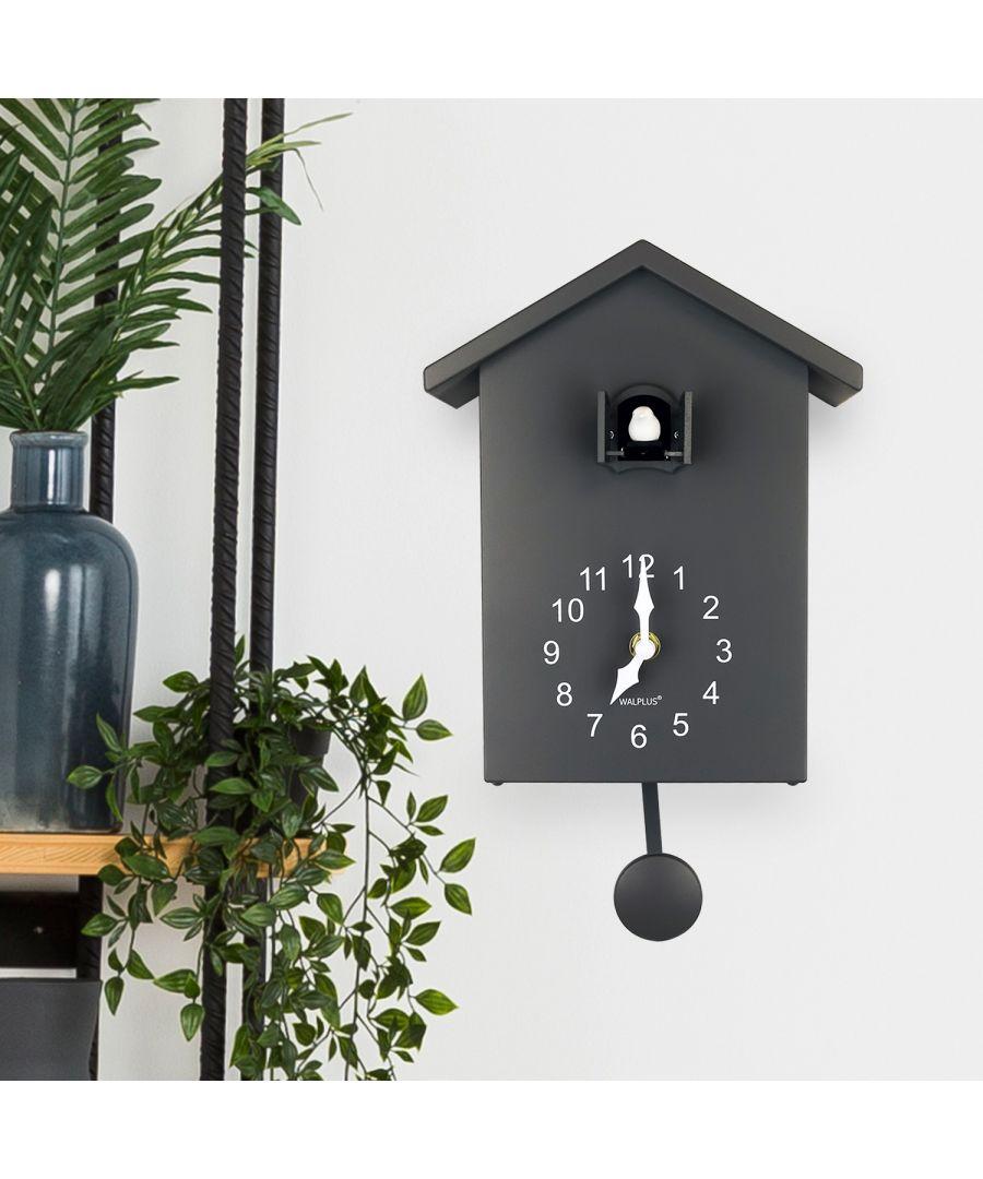 Image for WC2139 - Minimalist Cuckoo Clock - Grey