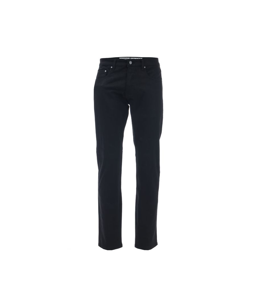 Image for Men's Weekend Offender Easy Fit Jeans in Black