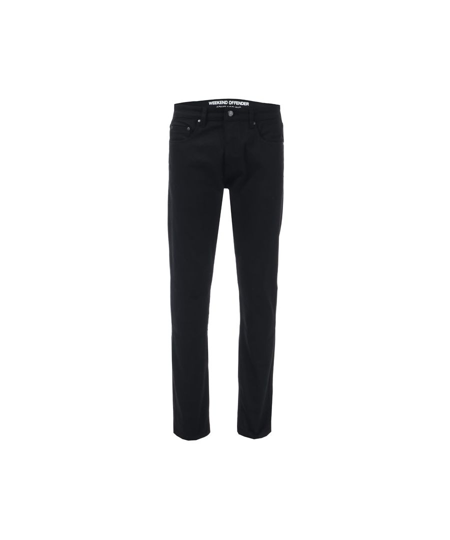 Image for Men's Weekend Offender Tapered Fit Jeans in Black