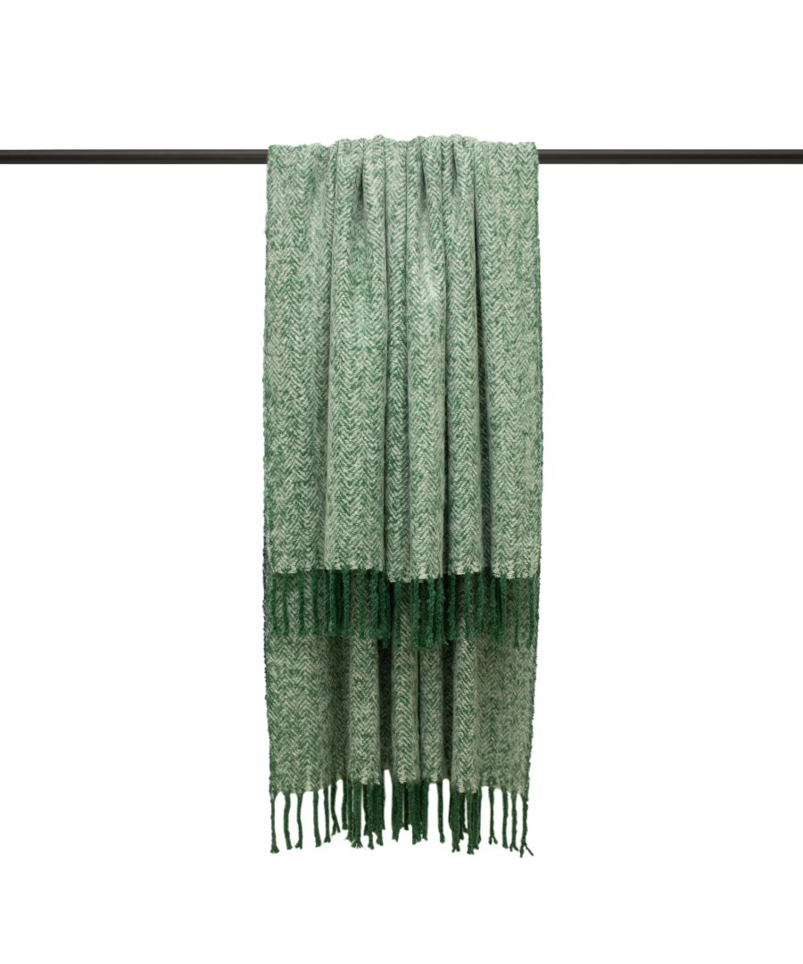 Image for Weaver 130X180 Throw Green