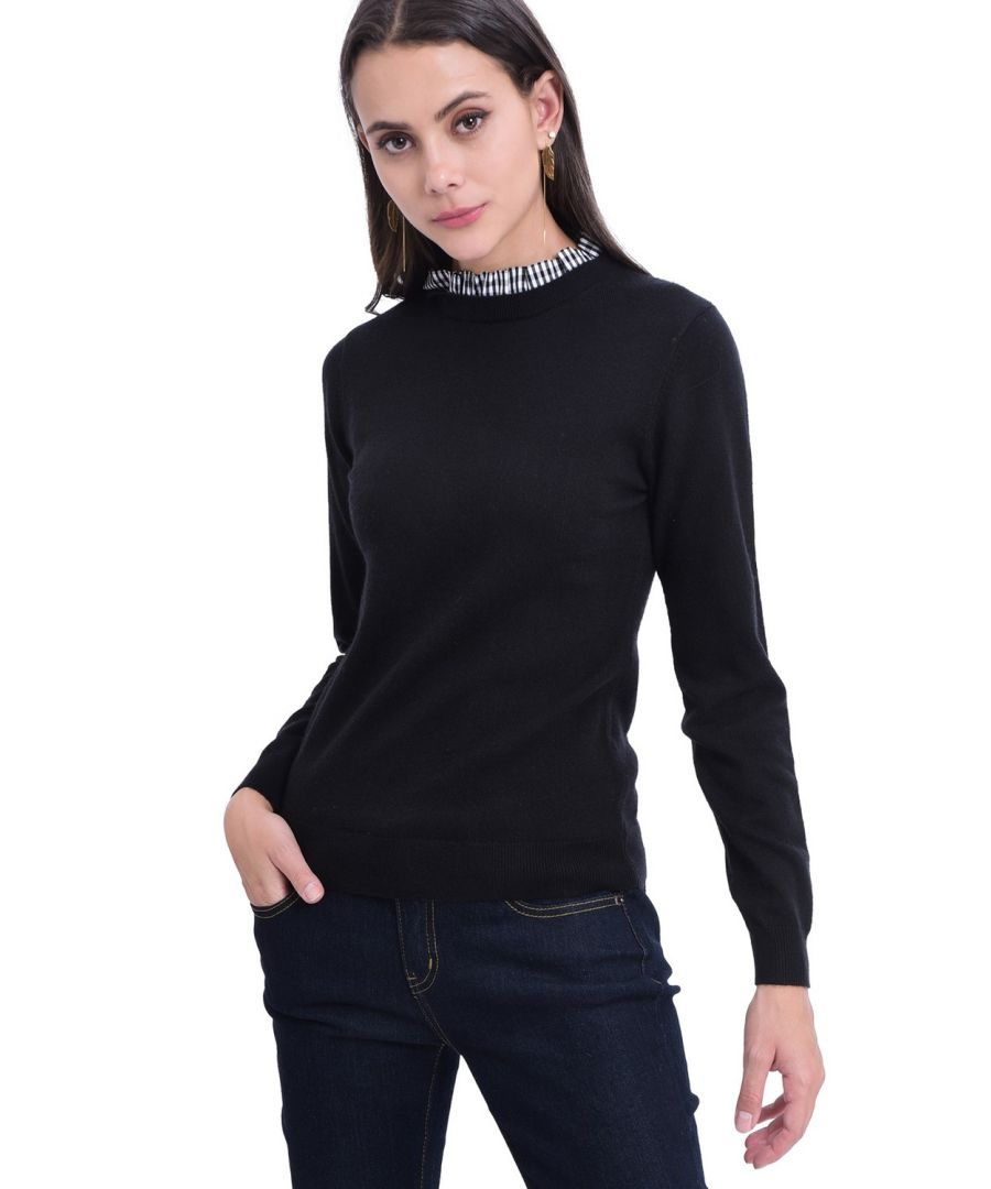 Image for William De Faye High Neck Sweater in Black