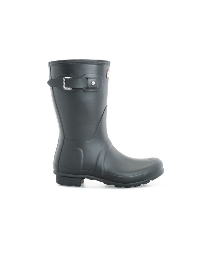 Image for Women's Hunter Original Short Wellington Boots in Black
