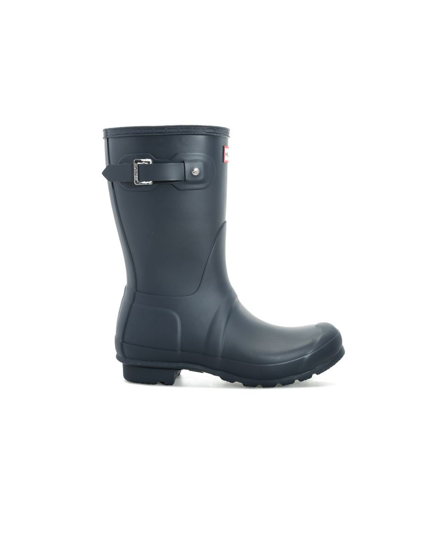 Image for Women's Hunter Original Short Wellington Boots in Navy