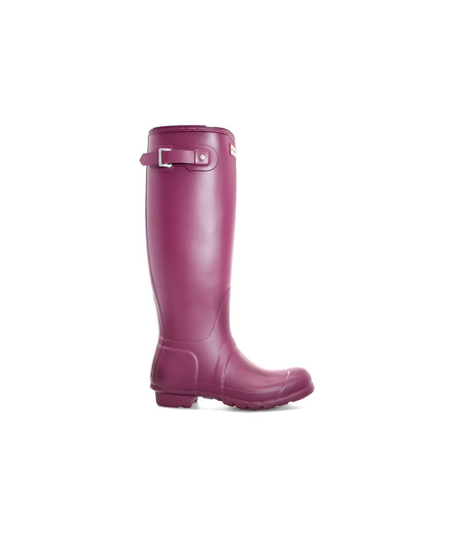 Image for Women's Hunter Original Tall Wellington Boots in Purple