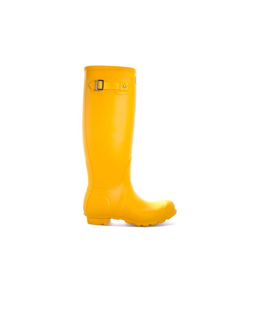 Image for Women's Hunter Original Tall Wellington Boots in Yellow