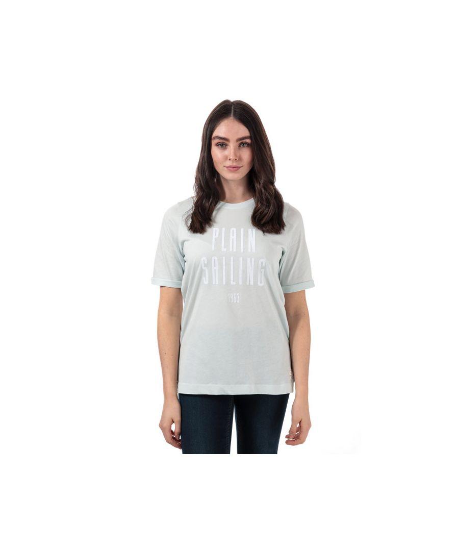 Image for Women's Henri Lloyd Plain Sailing T-Shirt in Light Blue