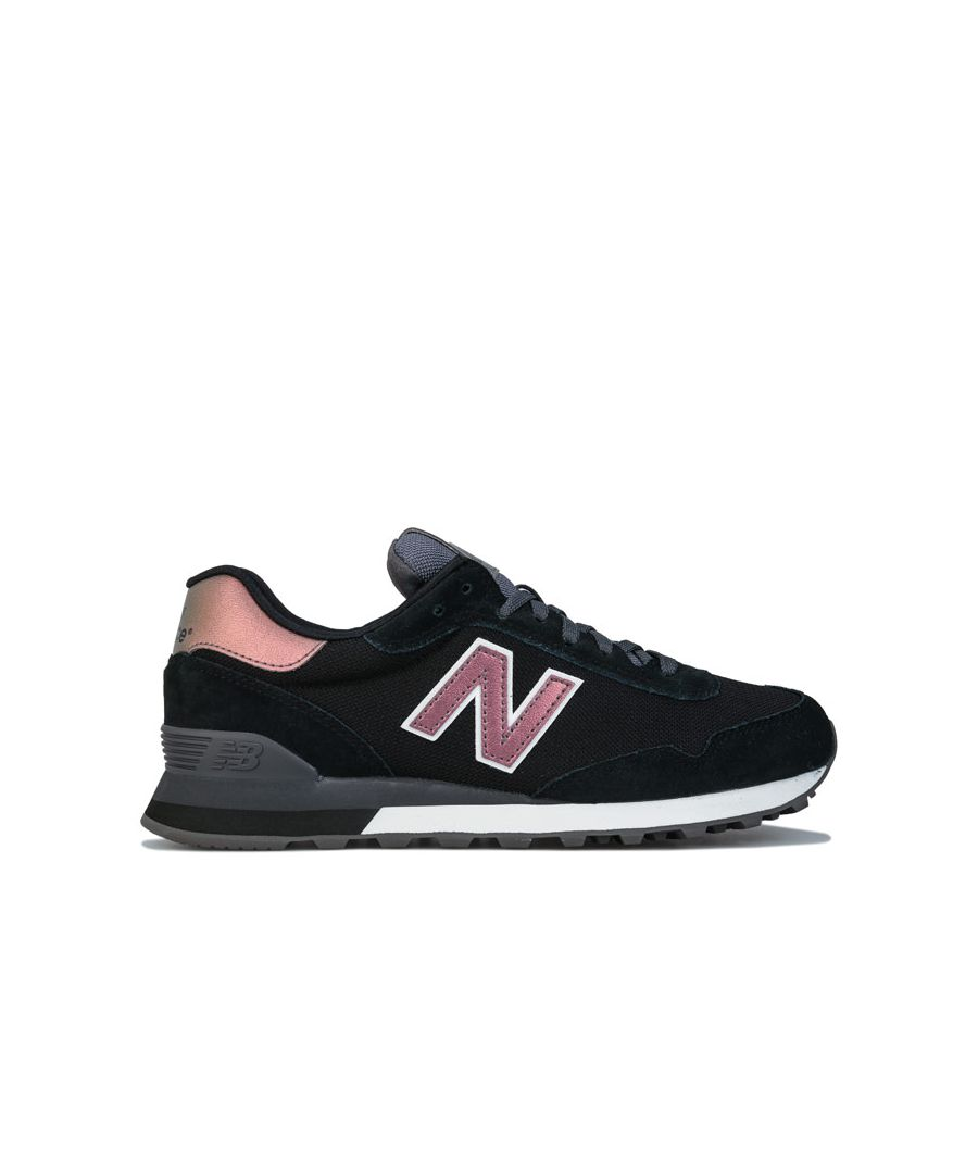 Image for Women's New Balance 515 Trainers in black pink