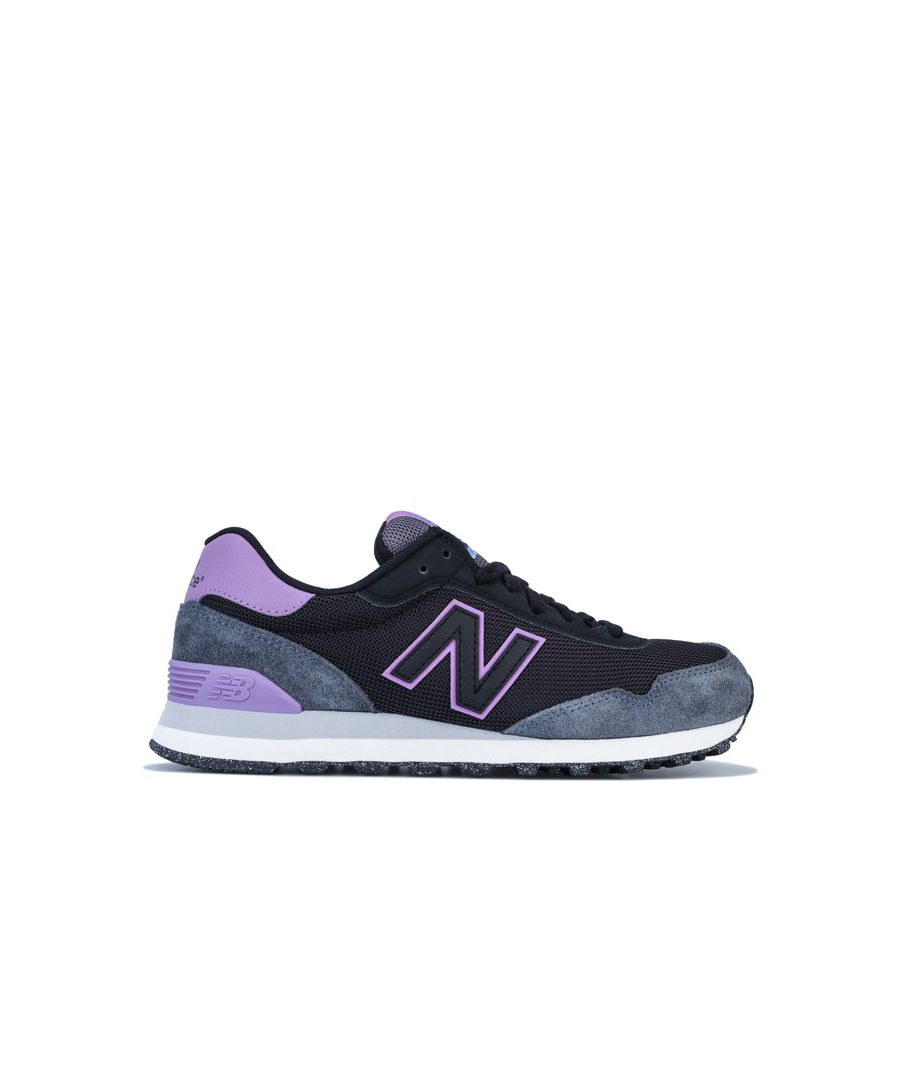 Image for Women's New Balance 515 Classic Trainer in Black purple