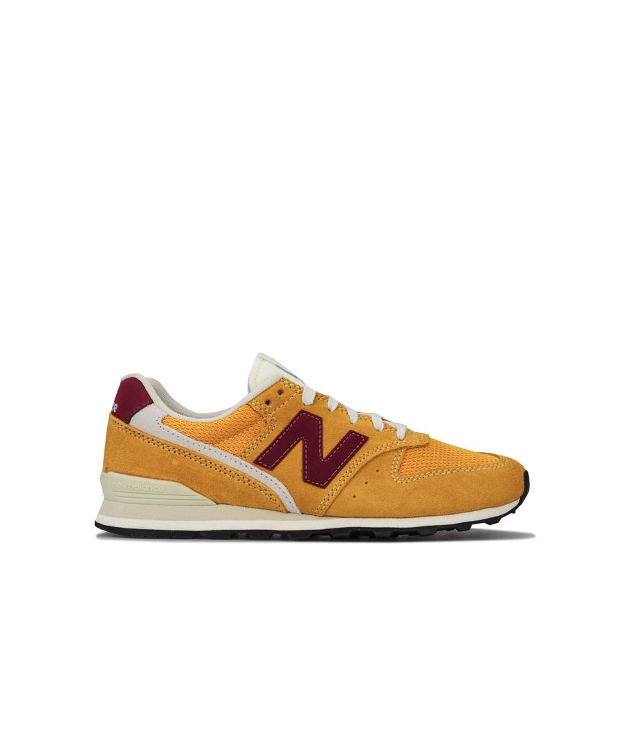 Image for Women's New Balance 996 Trainers in Yellow