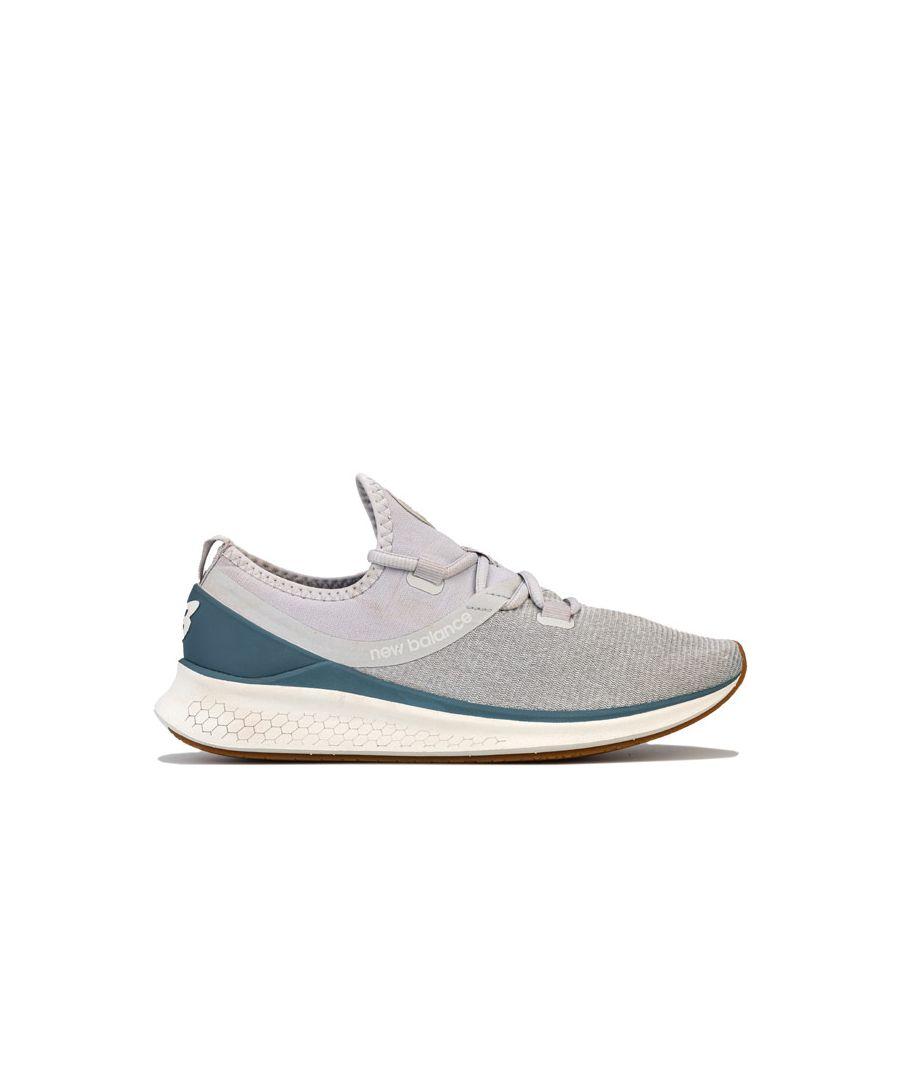 Image for Women's New Balance Fresh Foam Lazr V1 Running Shoes in Light Grey