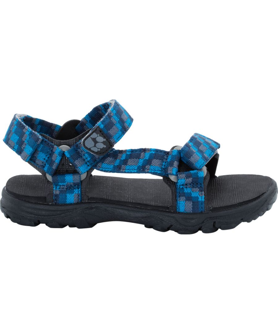 Image for Jack Wolfskin Boys Seven Seas 2 Lightweight Everyday Strap Sandals