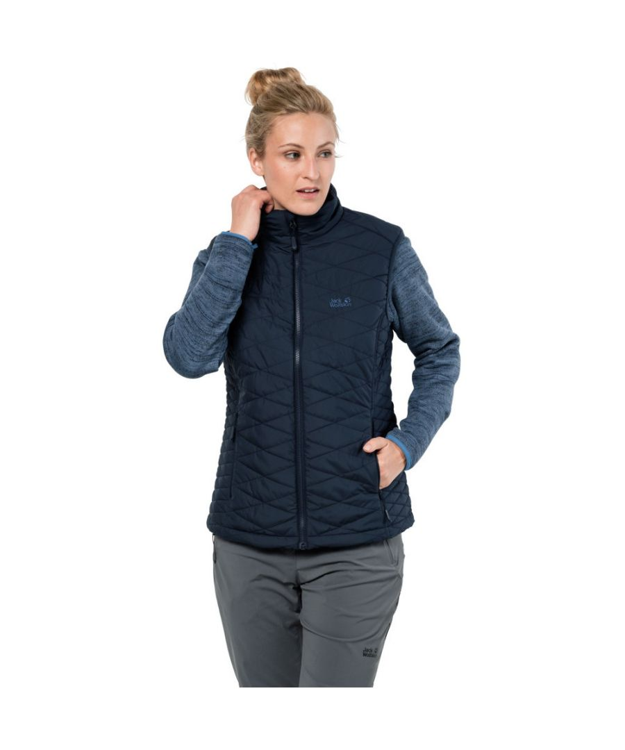 Image for Jack Wolfskin Womens/Ladies Aquila Glen 3in1 Fleece Gilet Bodywarmer