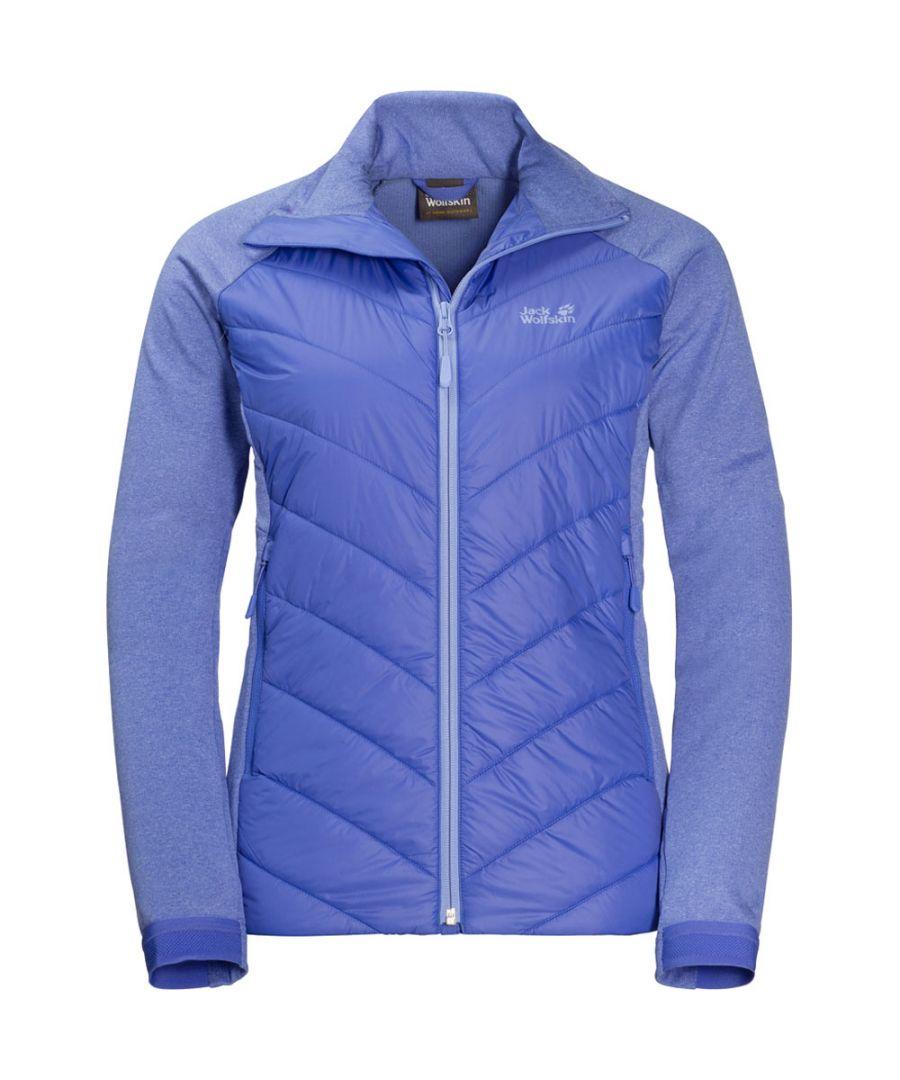Image for Jack Wolfskin Womens/Ladies Sutherland Crossing Hybrid Fleece Jacket