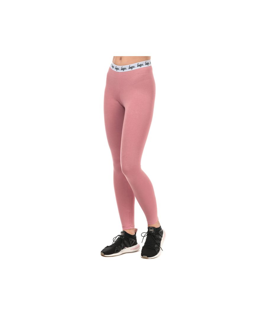 Image for Women's Hype Taped Leggings in Pink