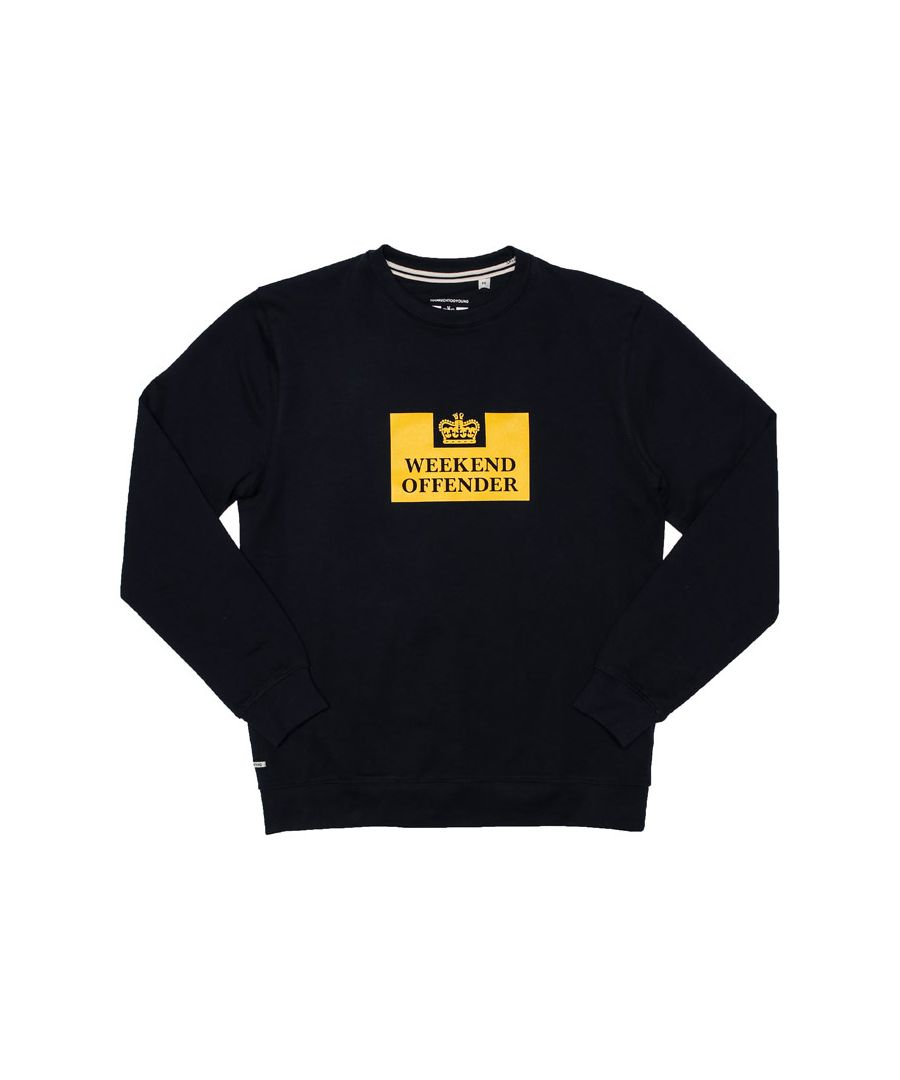 Image for Boy's Weekend Offender Junior Birra Sweat in Navy