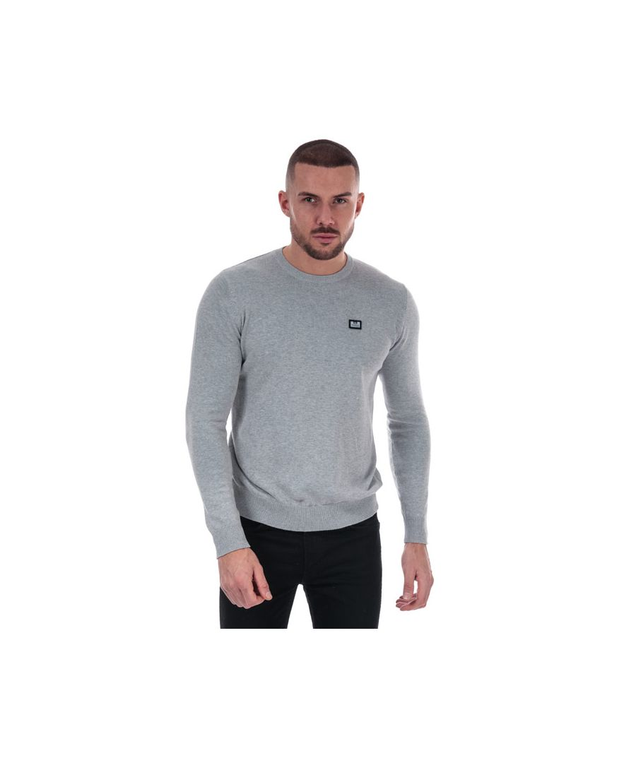 Image for Men's Weekend Offender Silver Cotton Knit in Grey