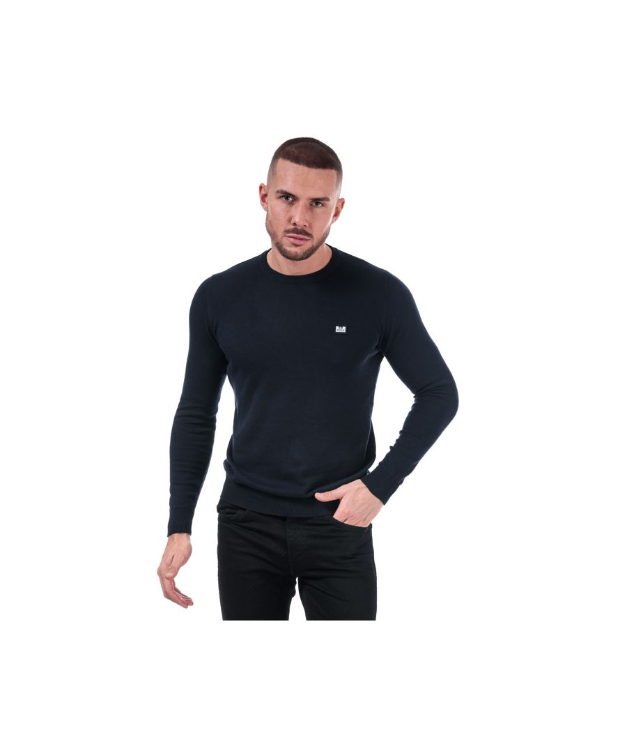 Image for Men's Weekend Offender Silver Cotton Knit in Navy