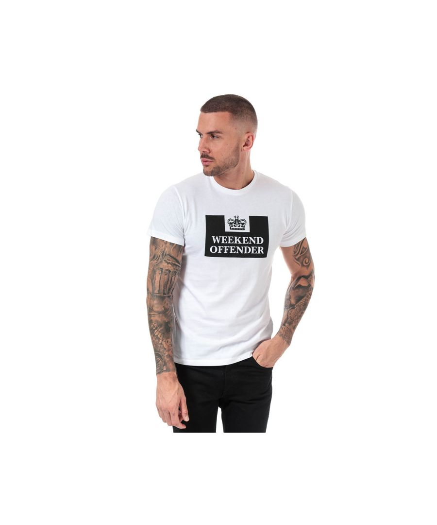 Image for Men's Weekend Offender Grimaldi T-Shirt in White