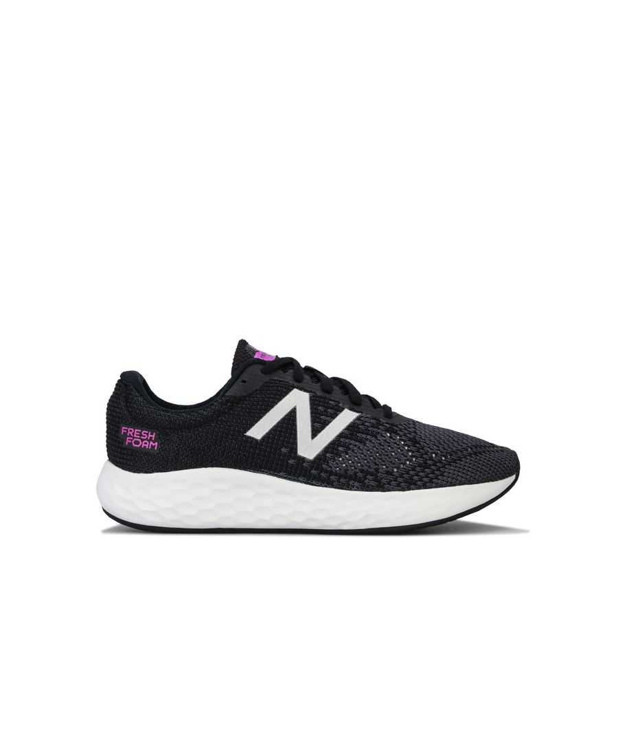 Image for Women's New Balance Fresh Foam Rise Running Shoes in Black