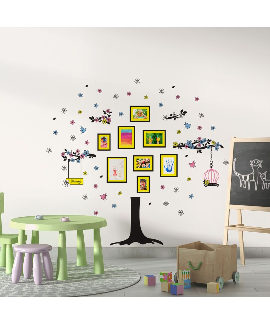 Image for WS9023 - Spring Tree Photo Frame and Birds Sticker Set