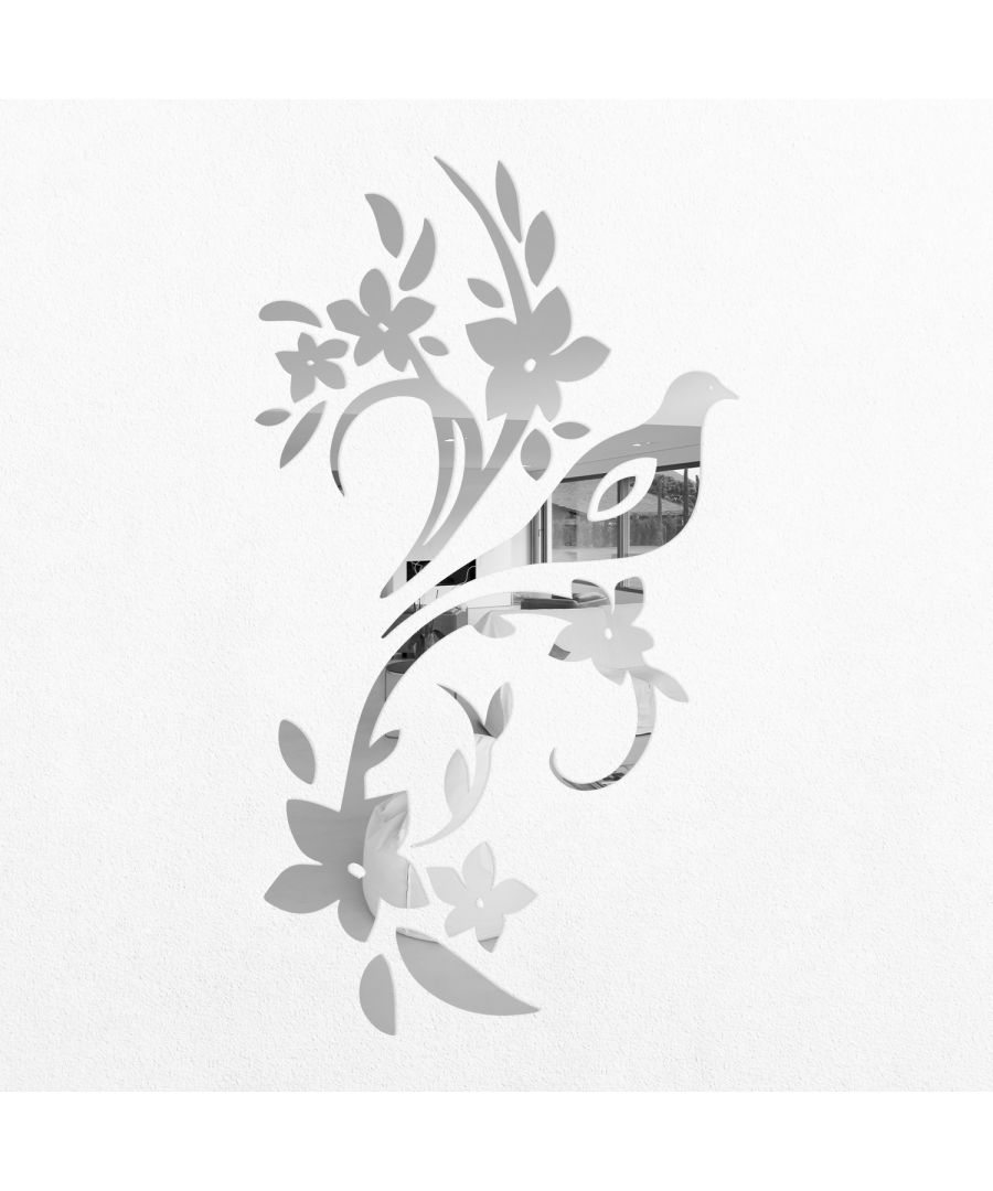 Image for WSM2011 - Bird Tree Mirror Wall Art