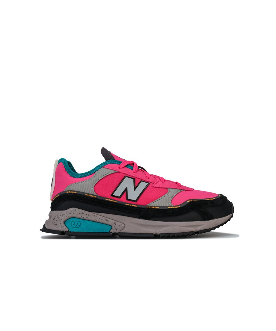 Image for Women's New Balance X Racer Trainers in Pink