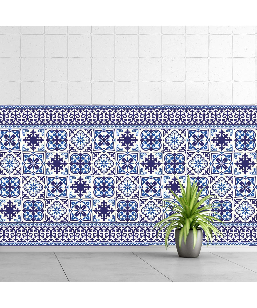 Image for WT1010 - Granada Tiles Wall Stickers - 10 cm x 10 cm - 24 pcs.