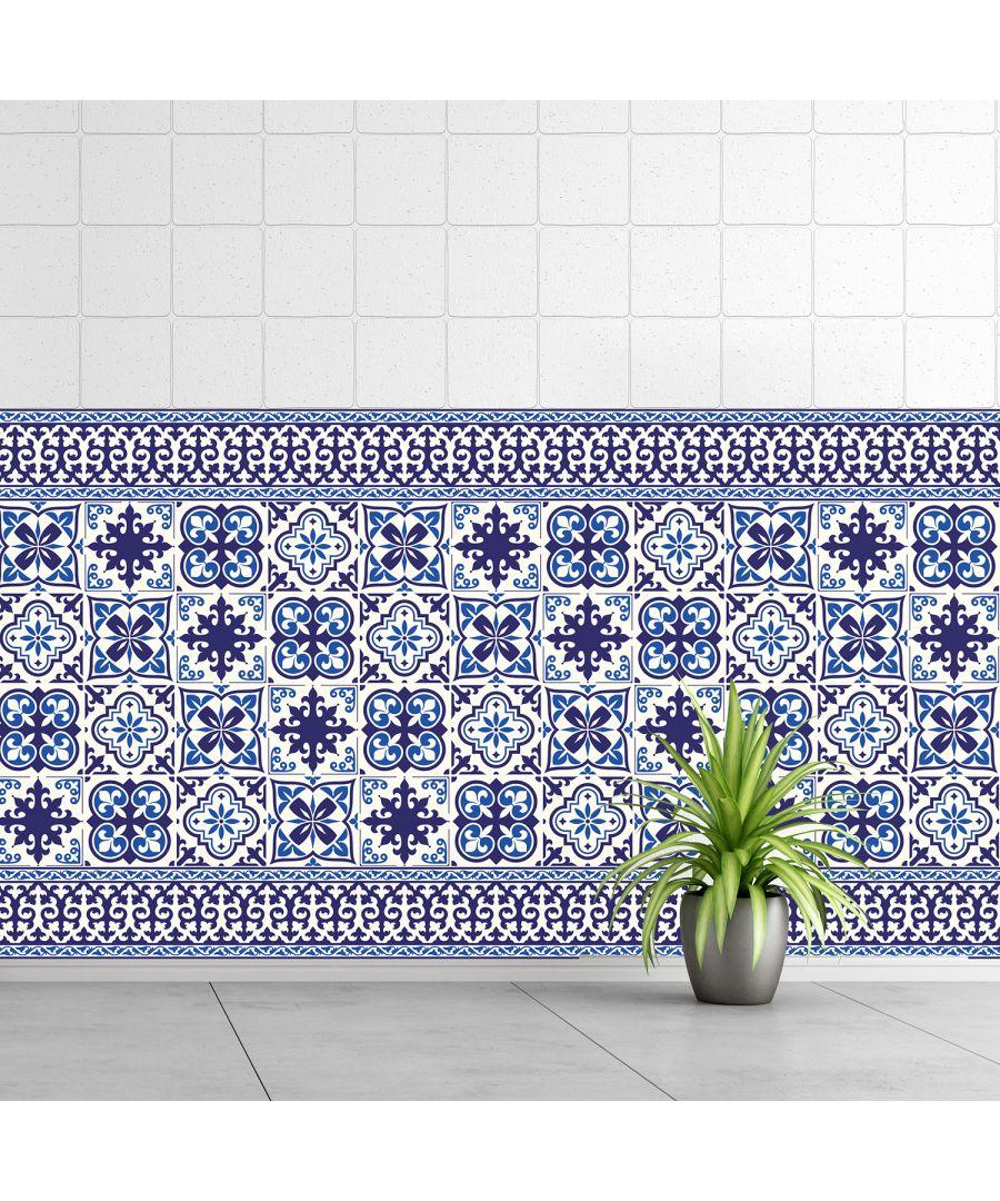 Image for WT1010 - Granada Tiles Wall Stickers - 10 cm x 10 cm - 24 pcs.