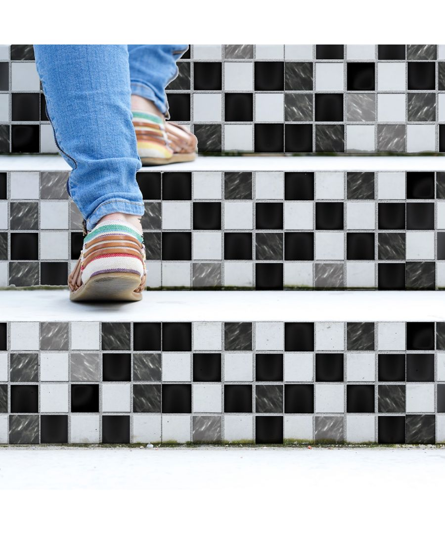 Image for Marble Mosaic Tiles Wall Stickers - 15 cm x 15 cm - 24 pcs.