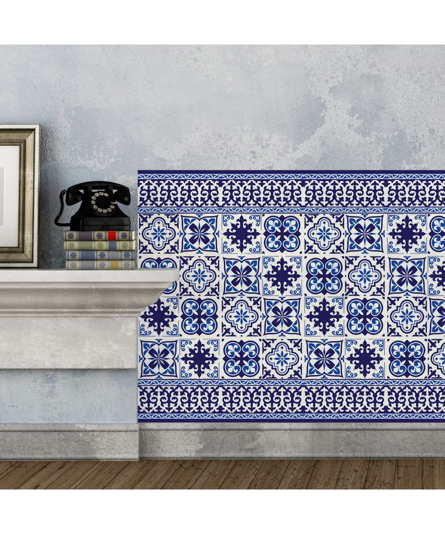Image for WT2010 - Granada Tiles Wall Stickers - 20 cm x 20 cm - 12pcs.