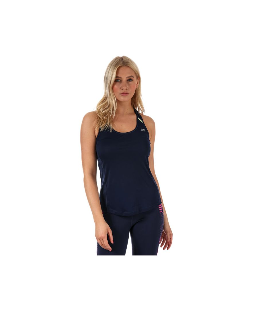 Image for Women's New Balance NB Ice Tank in Navy